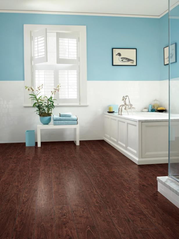 Bathroom Floor Safety Tips Part 1, Can Laminate Flooring Be Used In Bathrooms